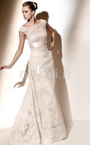 9cf0-bawx-abito-da-sposa-sexy-con-fiocco-mezza-coperta-stravagante-tubino
