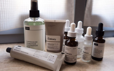 Skincare routine con The Ordinary e NIOD by Deciem
