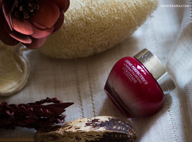 L'Occitane Crème Perfectrice Pivoine